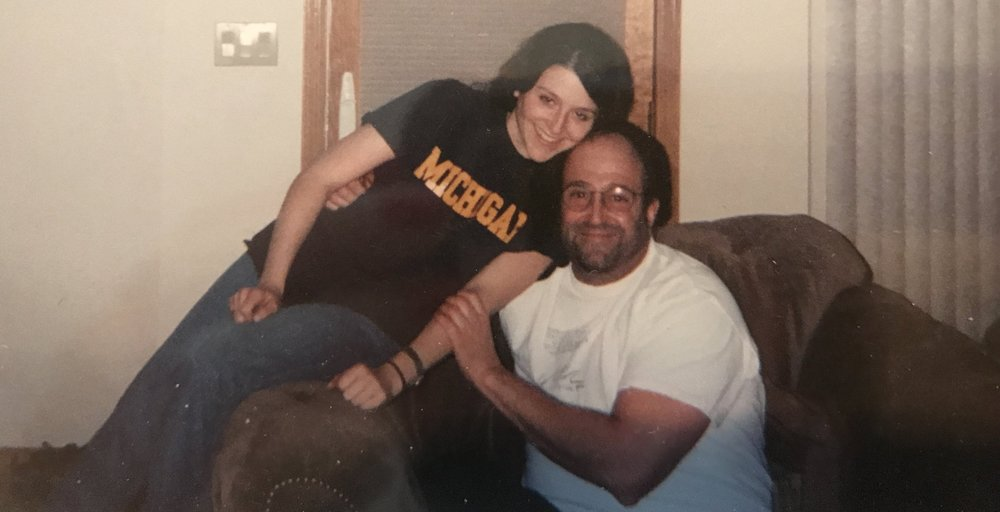 The last photo I took with my dad. Late August/early September, 2001.