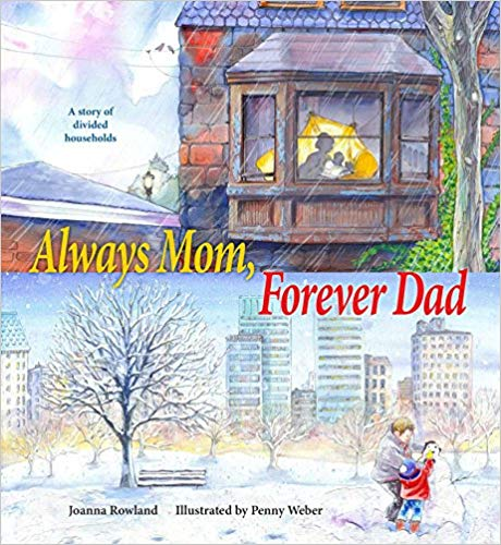Joanna's first published picture book. A book about divorce/separation.