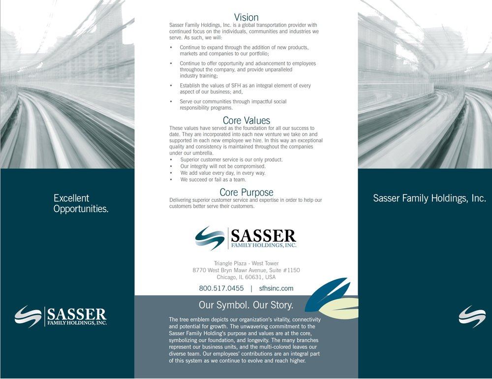 Sasser Family Holdings, Inc.: HR Recruitment brochure