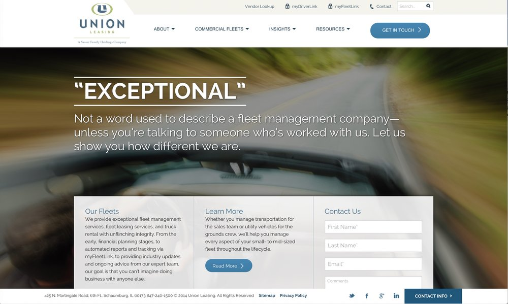 Union Leasing:  Auto Fleet Leasing and Management