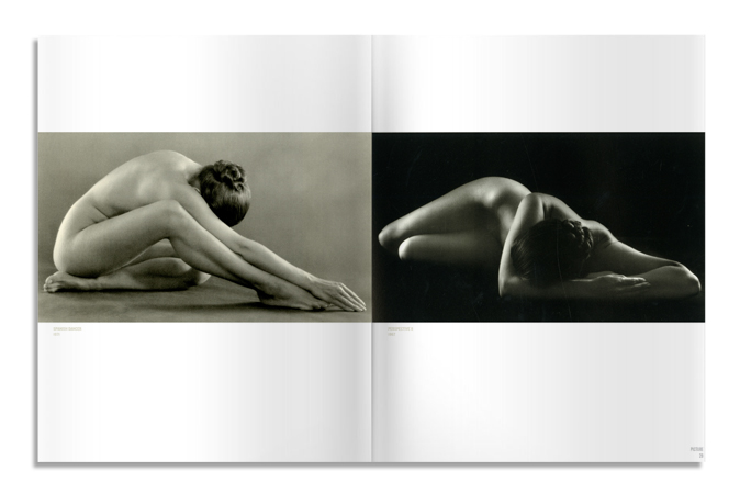"""Spanish Dancer""; ""Perspective II"", Ruth Bernhard"