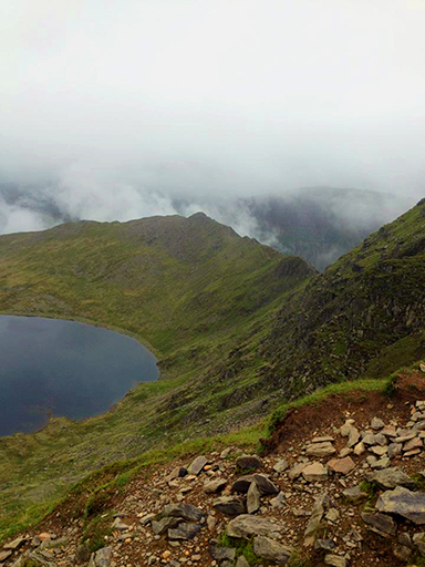 Striding Edge, Lake District, UK