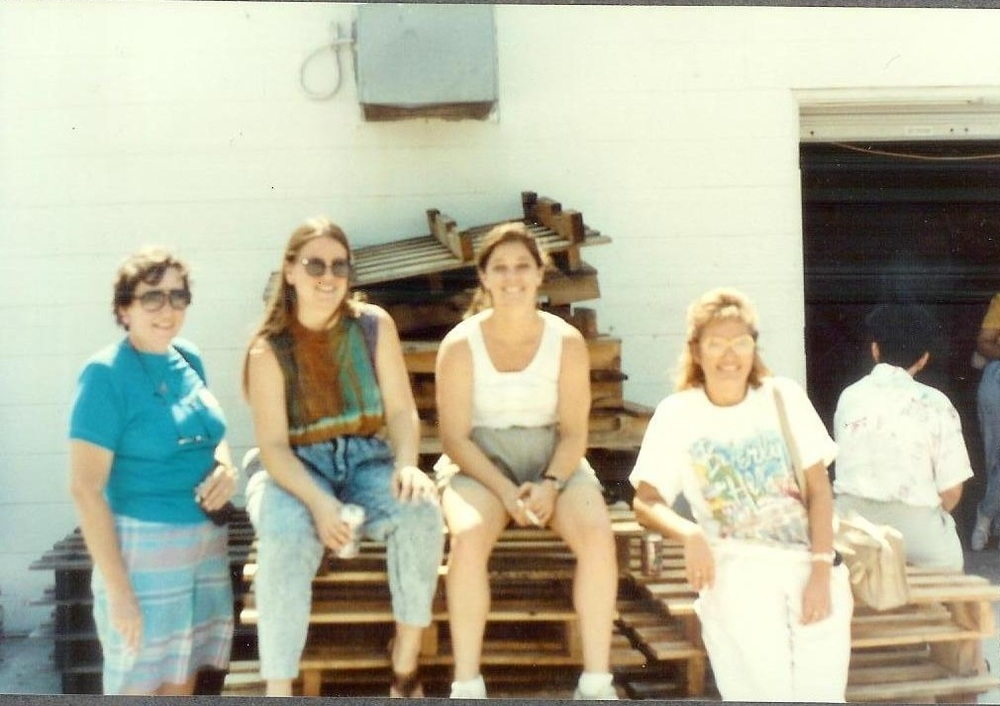 Aileen and the ladies at Bruno's workshop Clay Factory Tampa.jpg