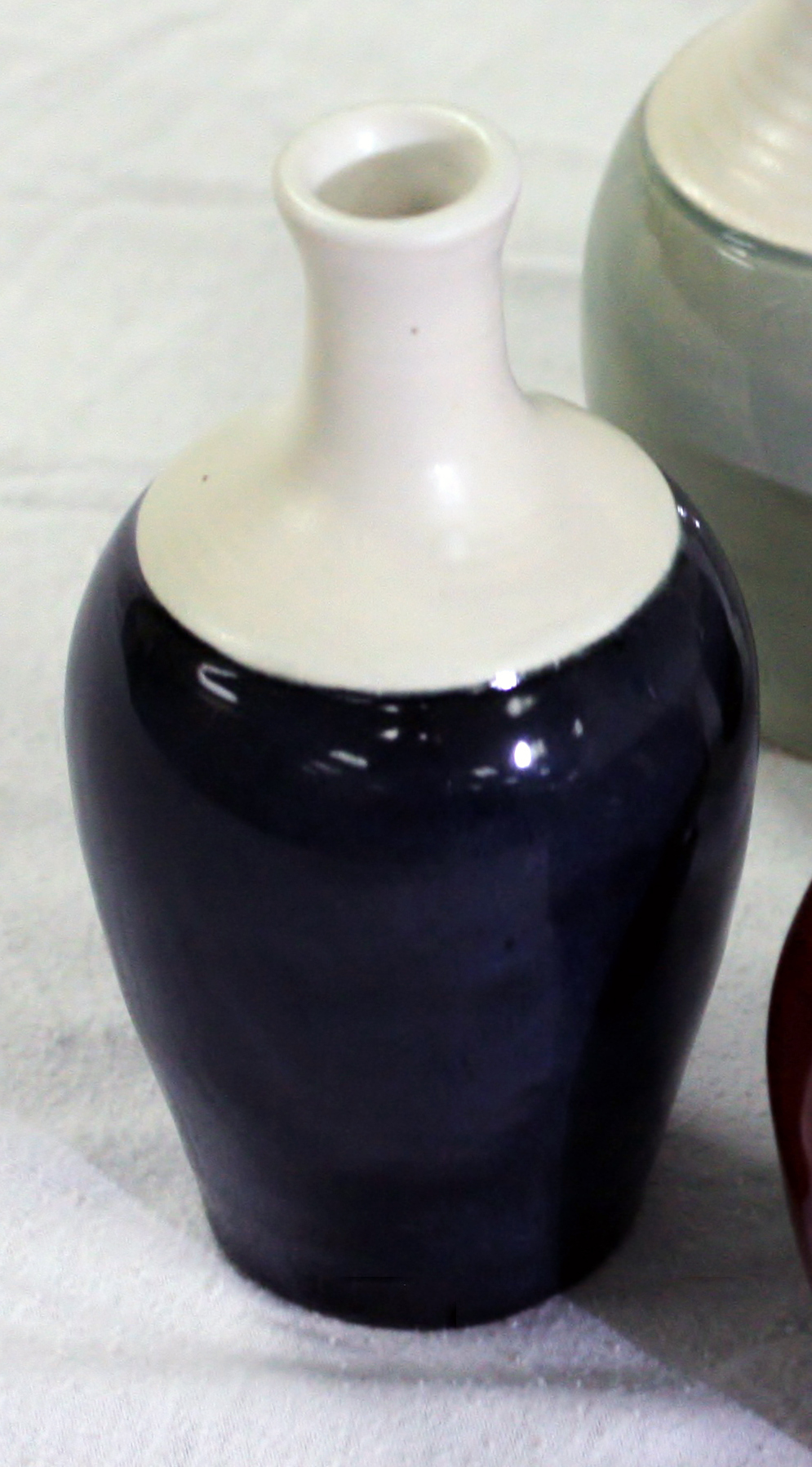 Small Midnight Blue Bud Vase