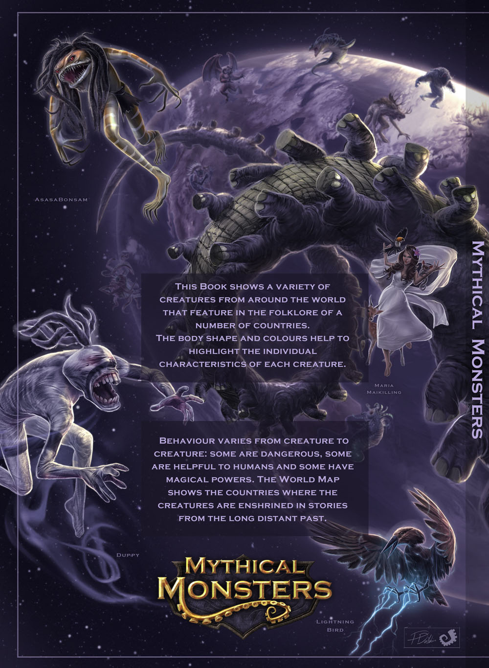 book mythical monsters