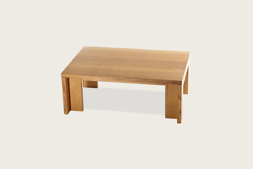 Insight Coffee Table in solid oak - Speke Klein