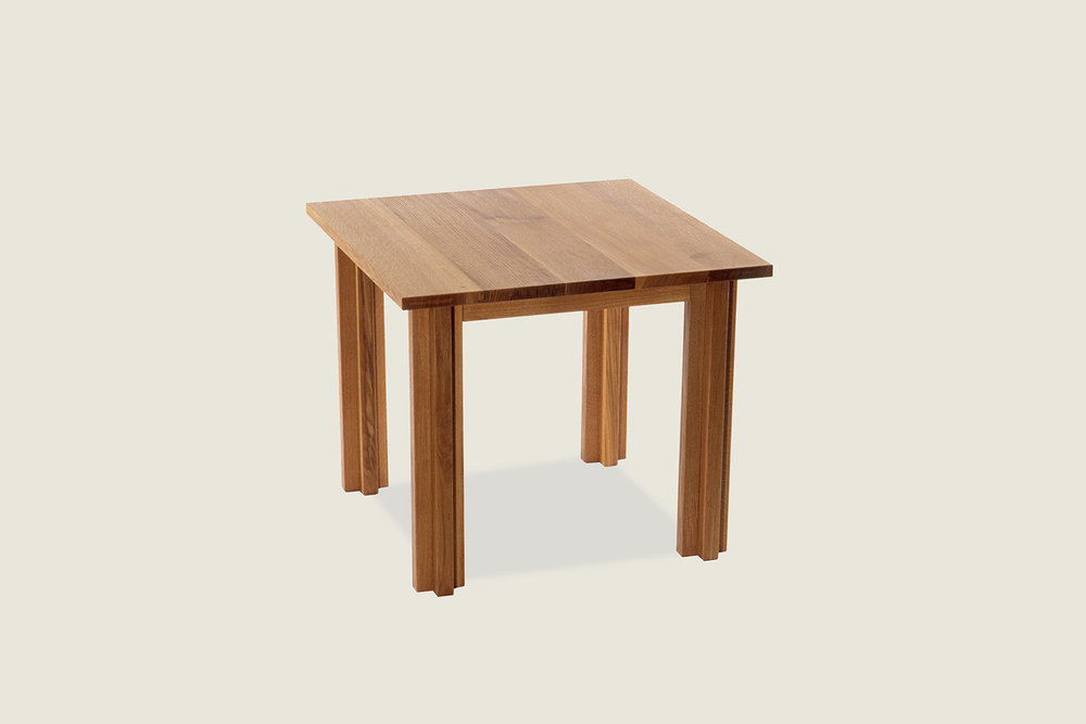 Cross Square Dining Table in solid oak - Speke Klein