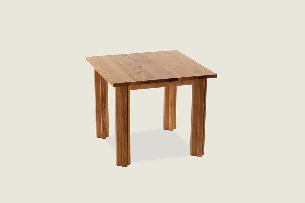 Cross Square Dining Table in solid oak - Speke Klein
