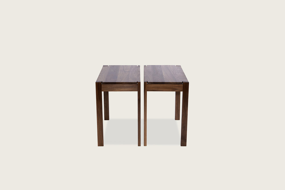 Harris Tables in solid walnut - Speke Klein