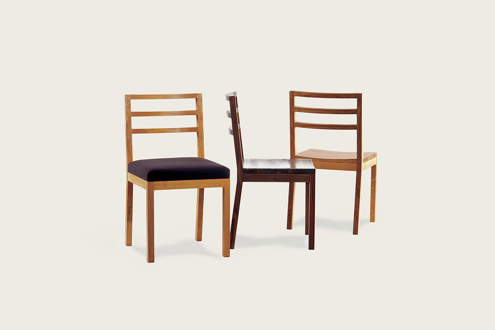 Ideal Chair in oak and walnut - Speke Klein