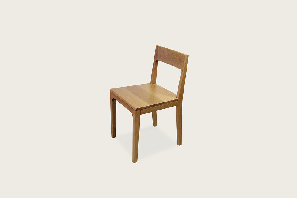 Mary Chair in solid oak - Speke Klein
