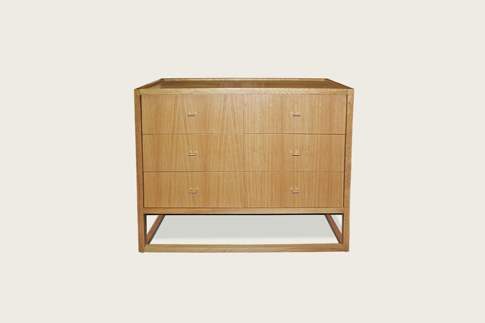 Petits Fours 6-Drawer Dresser in oak - Speke Klein