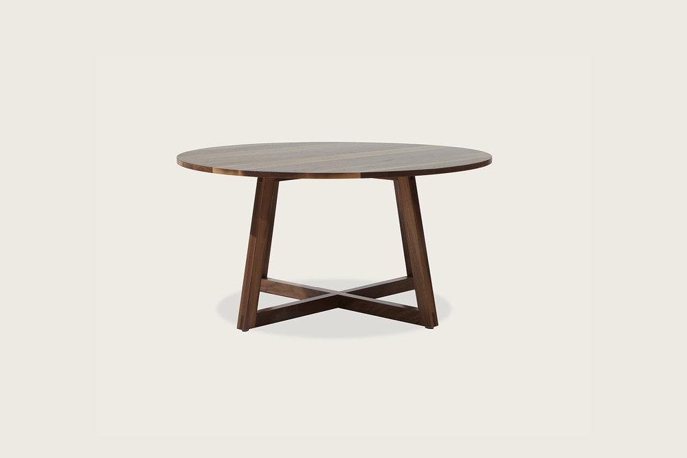 """Finn 36"""" Coffee Table in solid walnut - Speke Klein"""