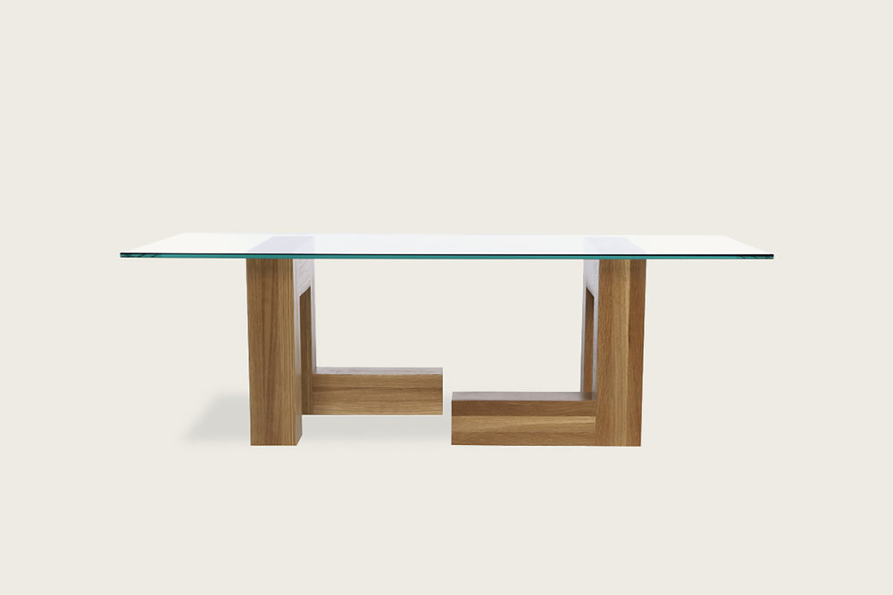 Speke Klein 4x4 Coffee Table in solid oak