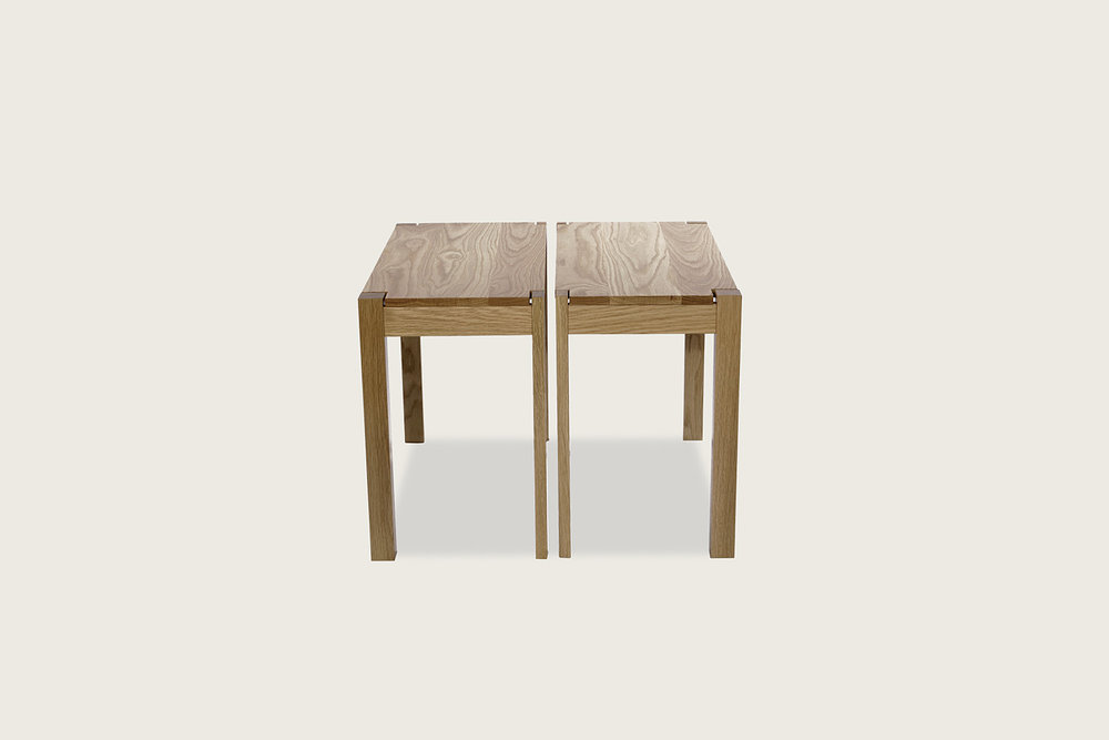 Harris Tables in solid oak - Speke Klein