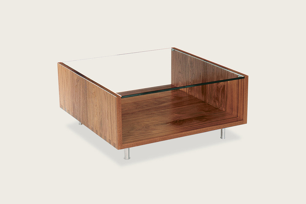Rowlands Coffee Table in solid walnut - Speke Klein