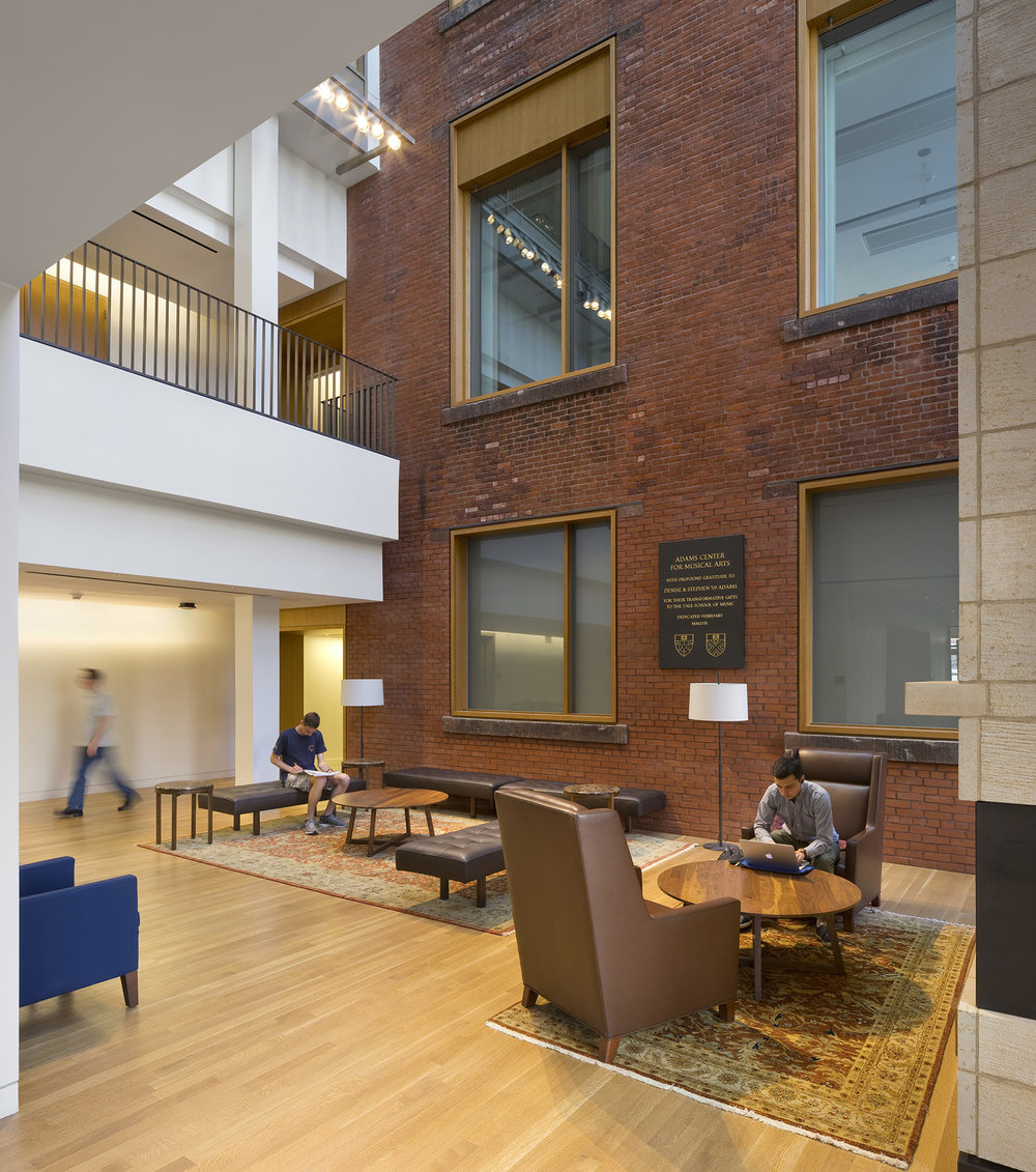 Adams Center for Musical Arts, Yale University