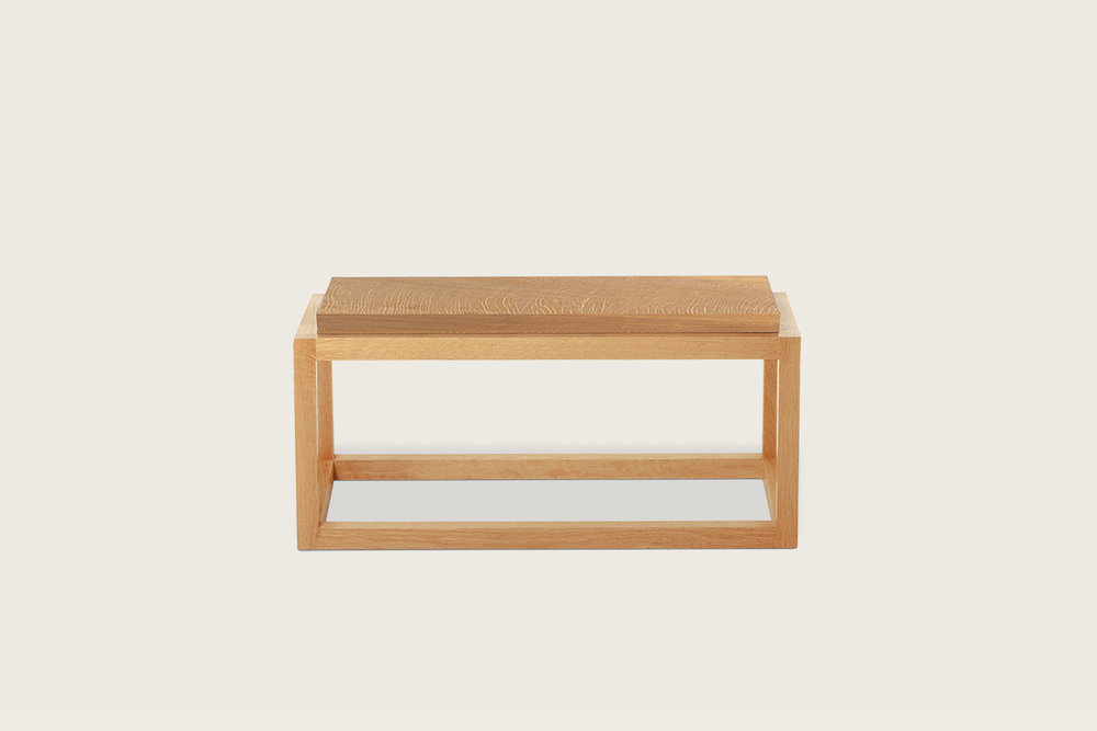 Petits Fours Coffee Table in oak - Speke Klein