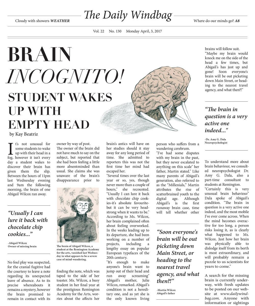 Runaway Brain Article