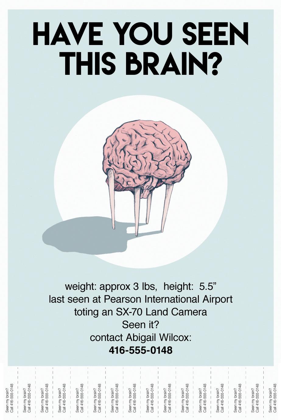 Runaway Brain Poster