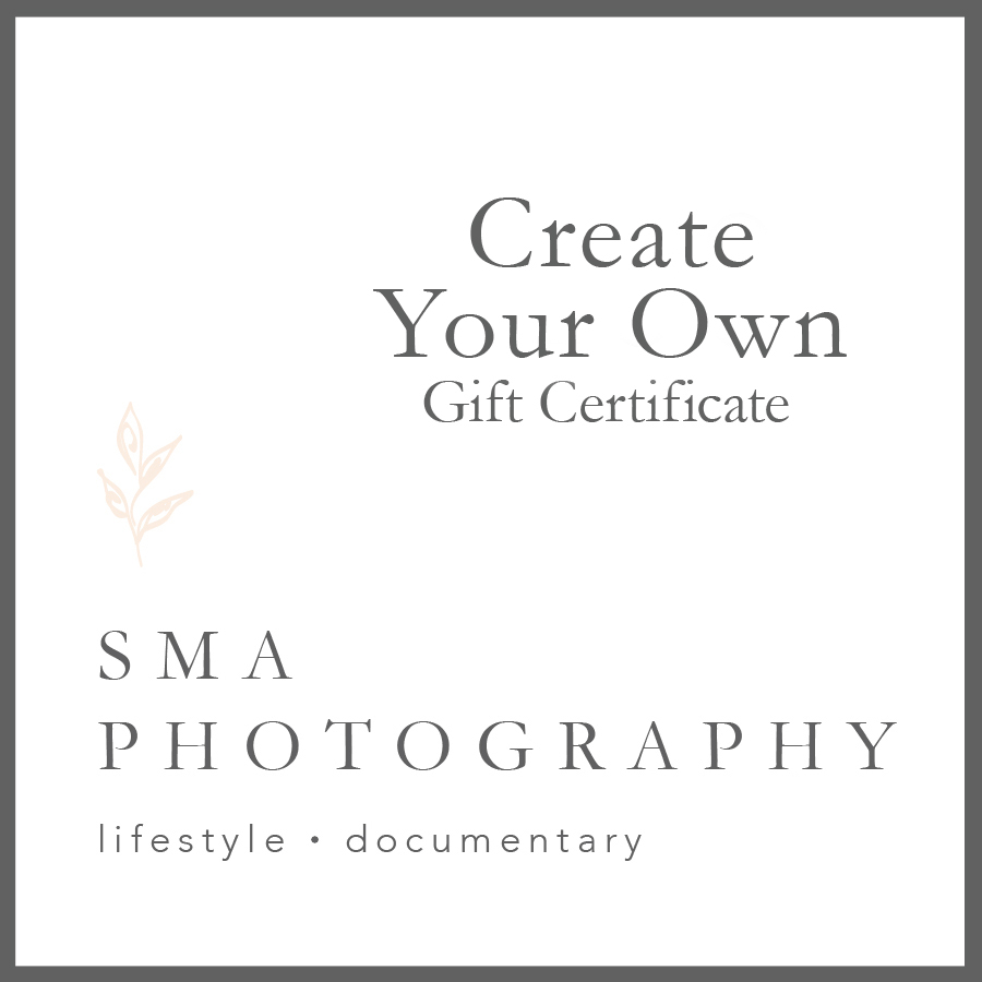 create your own gift certificate newborn fresh 48 birth and