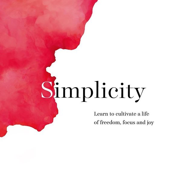 Pre-release sneak peek of my new book Simplicity $1.99 digital download for today only! Link in bio! Enjoy 🙏🏼 If you love it, please review on Amazon!