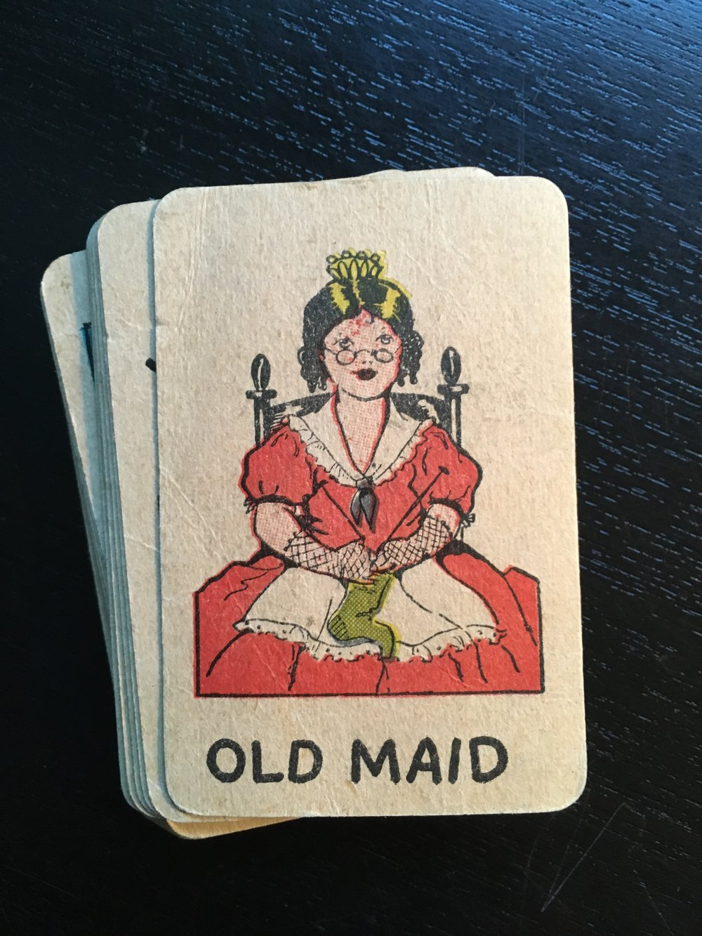 The Old Maid card.