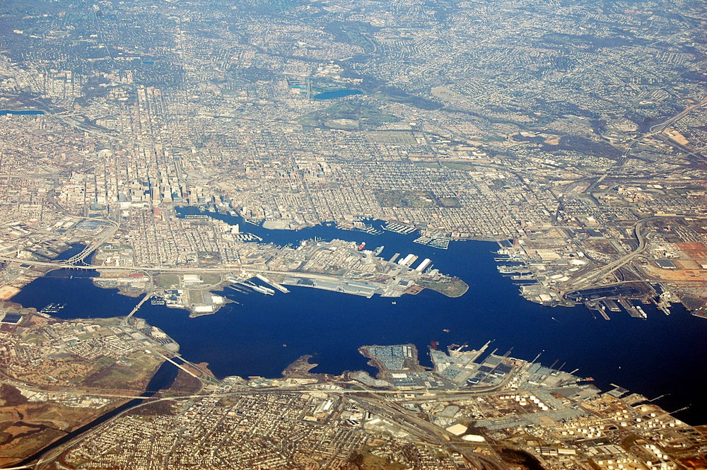 Baltimore, MD. Photo: Fletcher 6, Wikimedia Commons
