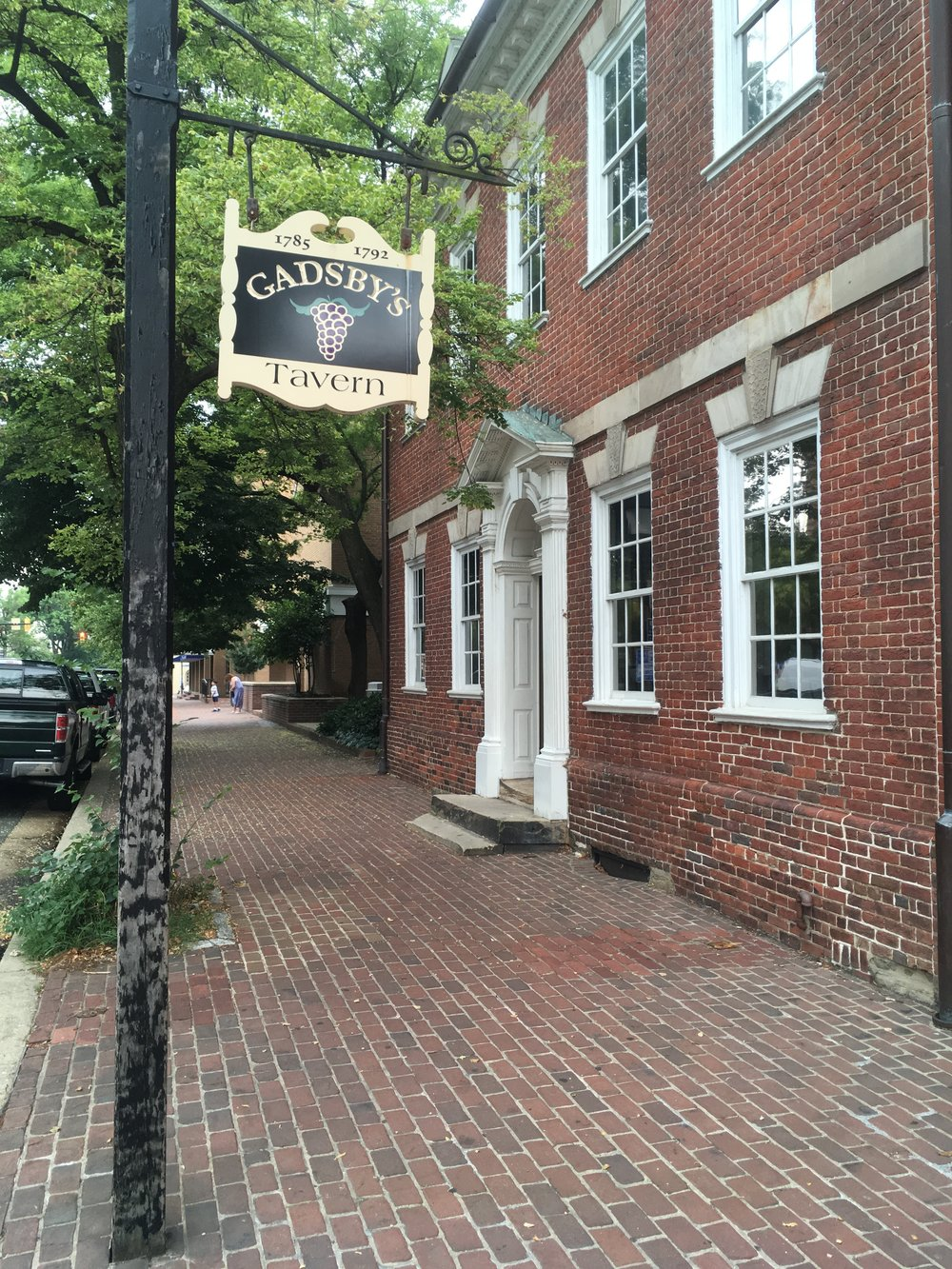 Gadsby's Tavern in Alexandria, Virginia. Photo by Gina Caison.