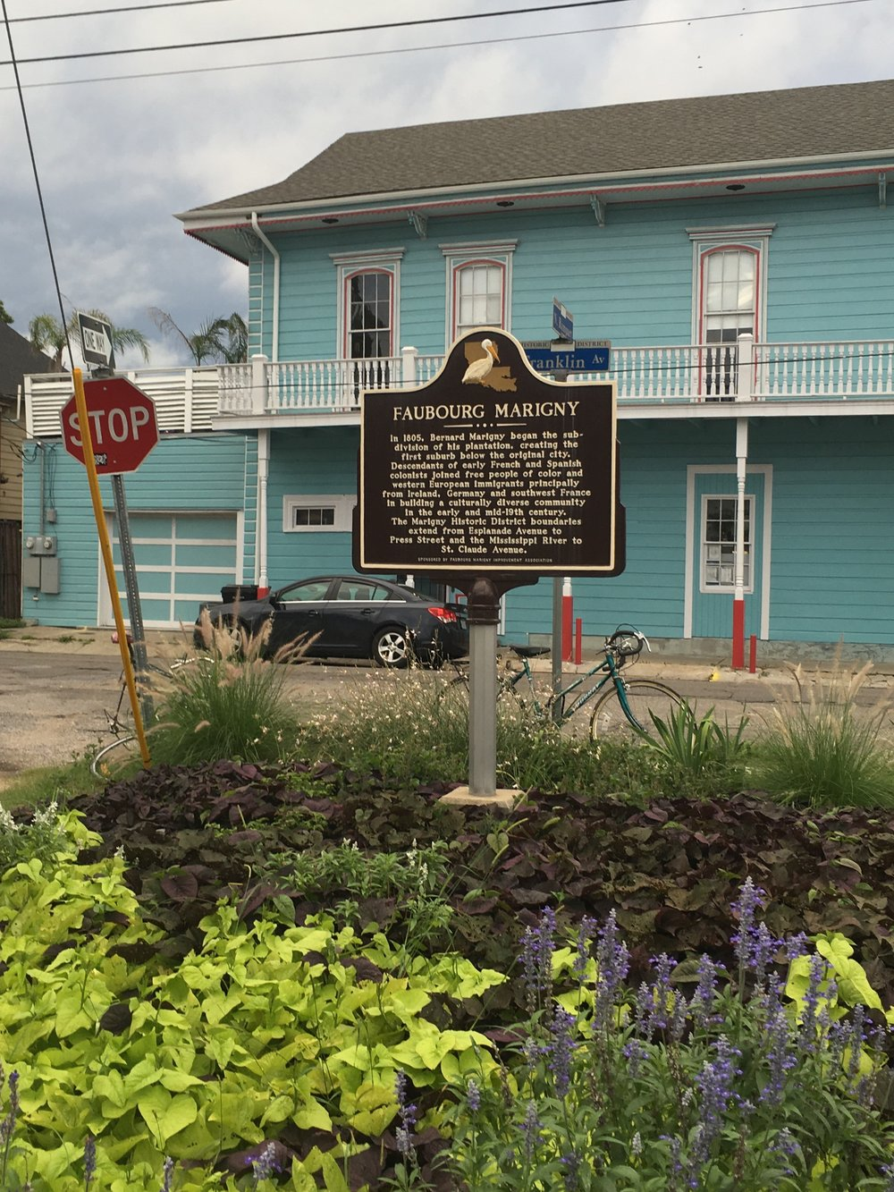 Benard de Marginy laid out the Marginy from land that had been his family's plantation just outside the old city limits of New Orleans. Today, we would consider this former plantation as squarely in the city.