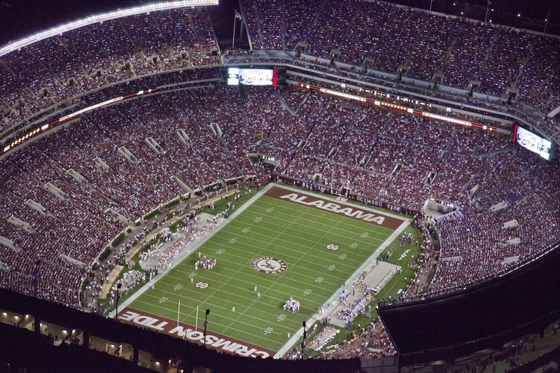 Bryant-Denny Stadium. Photo: Carol M. Highsmith | Library of Congress