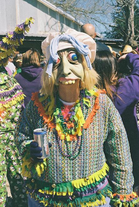 Berline Boone, Basile Mardi Gras | Carolyn Ware