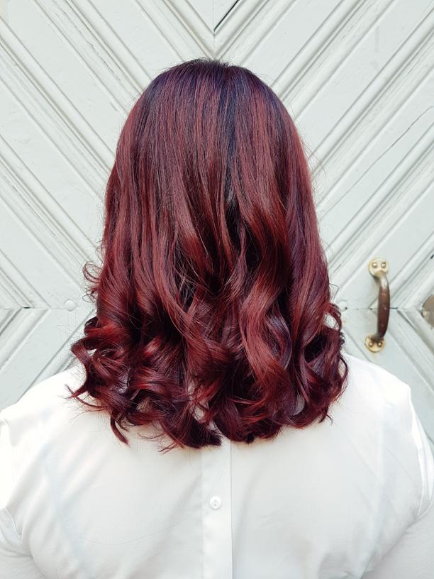 Hair and photos by Susannna Poméll Model: Jannina