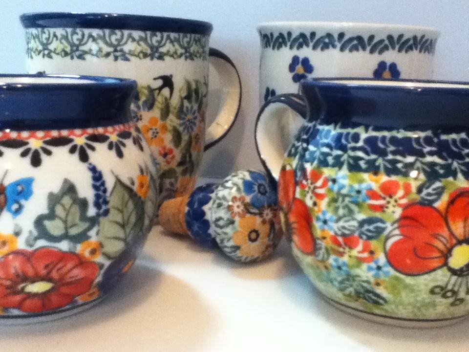 Cute Polish coffee mugs