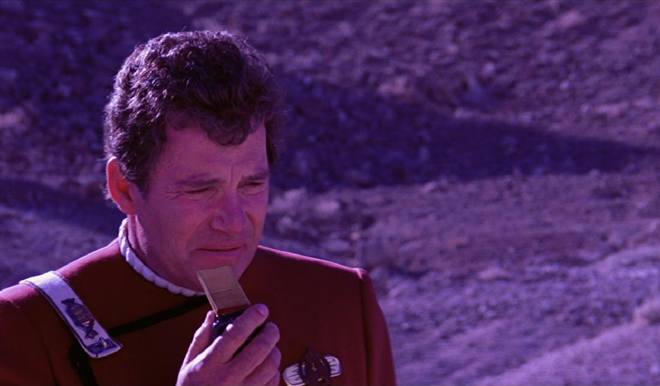 William Shatner thinks about the future of mobile technology.