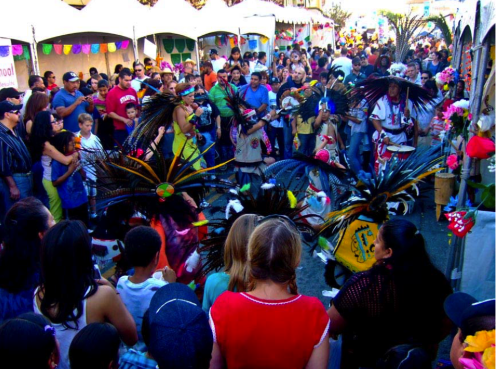 El Dia de Los Muertos is celebrated in Fruitvale's transit village