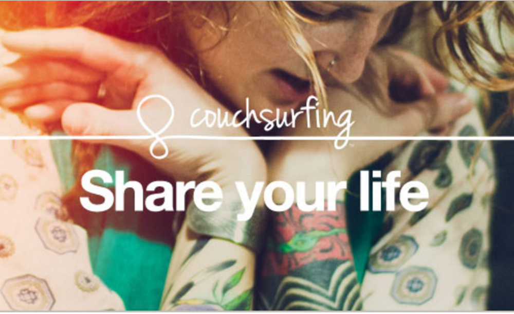 Couchsurfing's About Page