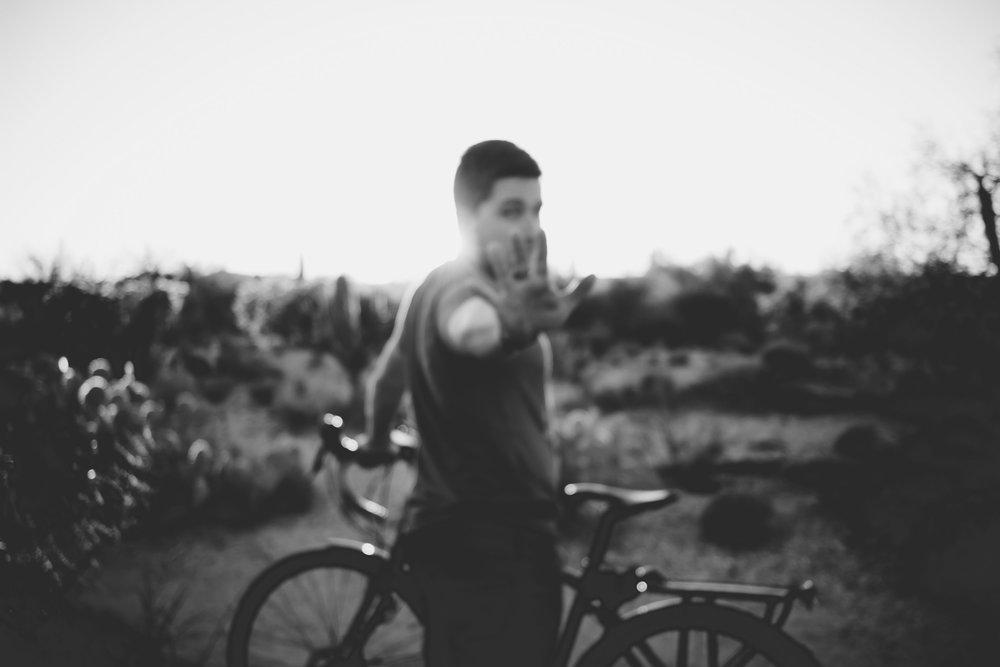 Bike Through Traffic