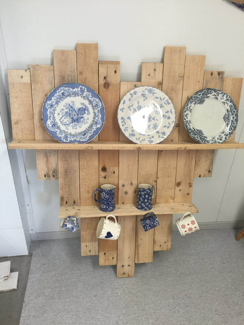 Heart Shelves: 102w x 120 high £65