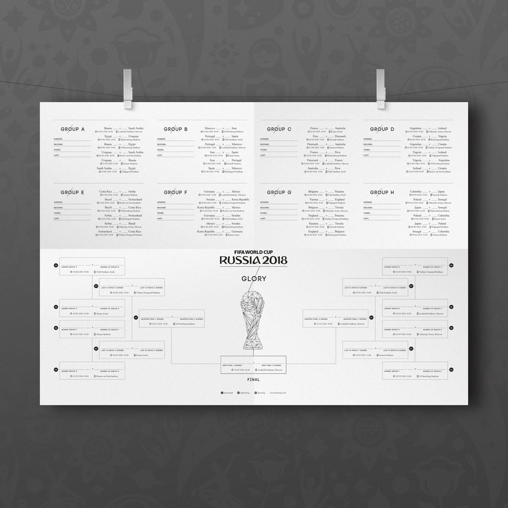 wall chart — Blog — Glory Magazine - Documenting the beautiful game