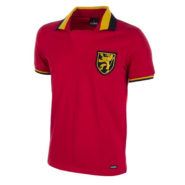 Belgium 1960s Short-Sleeve Retro Football Shirt - Buy this shirt >>