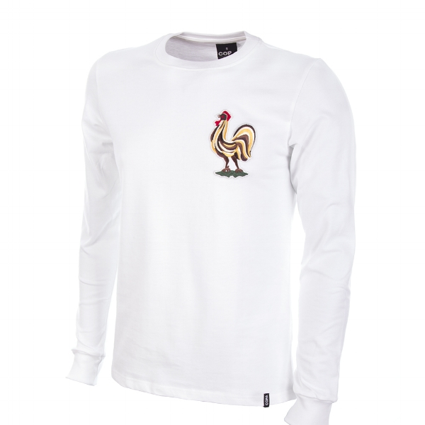 France Away 1969 Long-Sleeve Retro Football Shirt - Buy this shirt >>