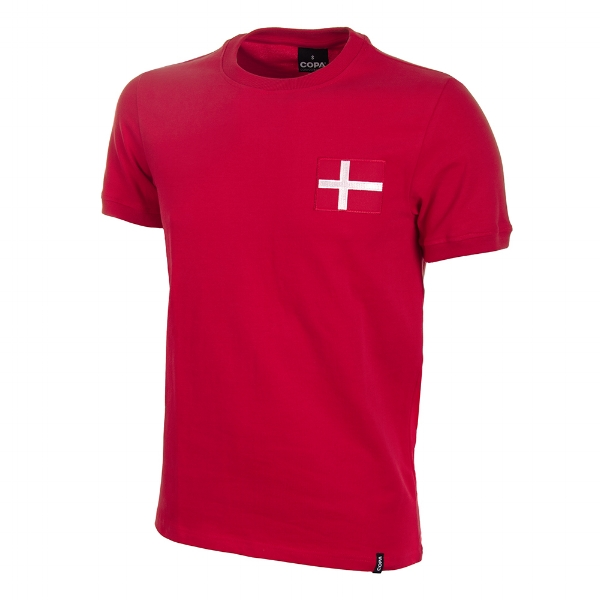 Denmark 1970s Long-Sleeve Retro Football Shirt - Buy this shirt >>