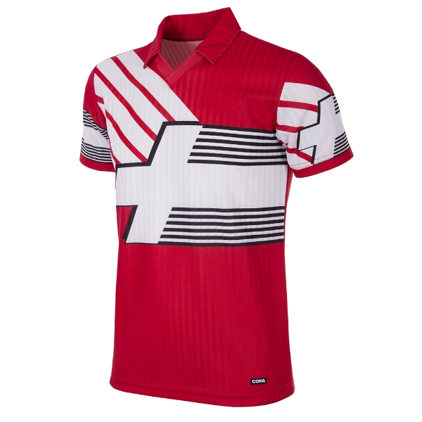 Switzerland 1990-92 Short-Sleeve Retro Football Shirt - Buy this shirt >>