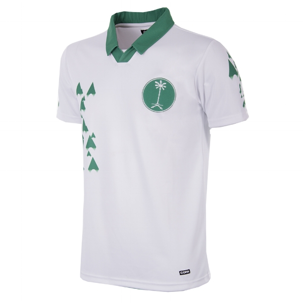 Saudi Arabia 1998 Short-Sleeve Retro Football Shirt - Buy this shirt >>