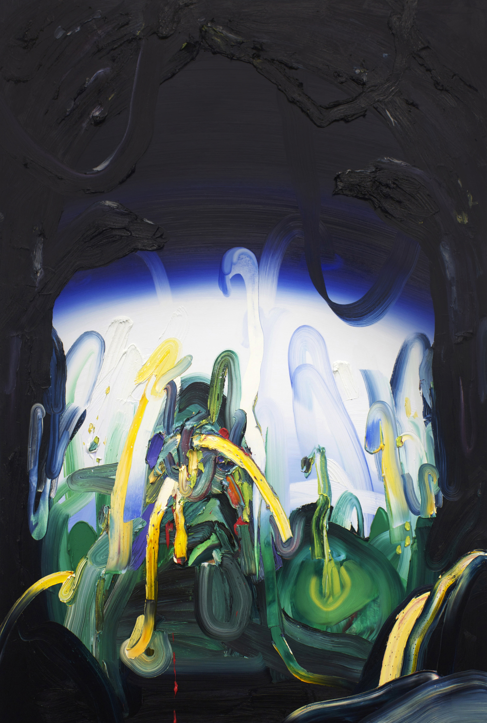 Otherworld / oil on canvas / 72 x 48 inches
