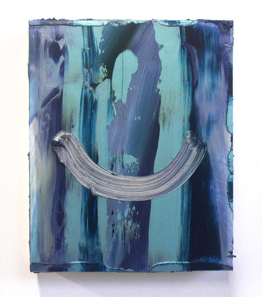 Hammock / oil on panel / 10 x 8 inches