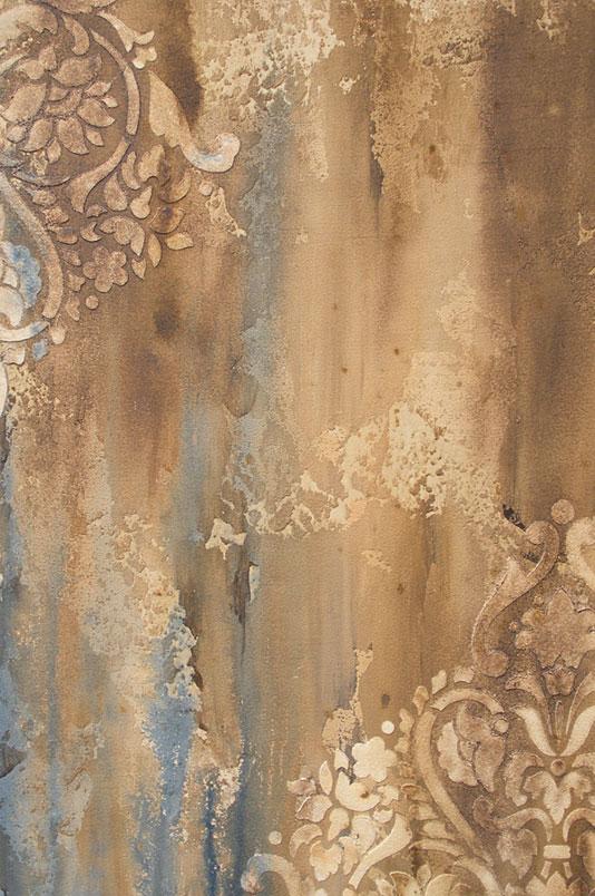 Texture Stencil Finish