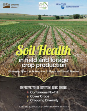 Soil Health in field and forage crop production - Click to download