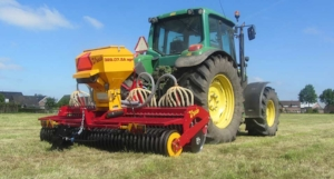 JC Machinery will demonstrate the Vredo DZ Agri Air Overseeders.